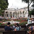 写真: トプカプ宮殿の庭は多国籍 Topkapı Palace's Garden