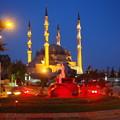 写真: モスクと噴水 Mosque & Fountain in Edirne
