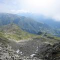 写真: アルプスの谷