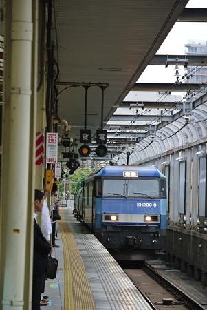 桜木町駅にて