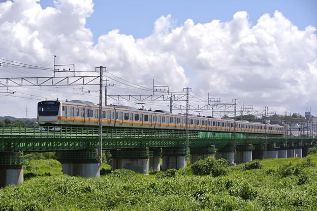 中央本線多摩川橋梁
