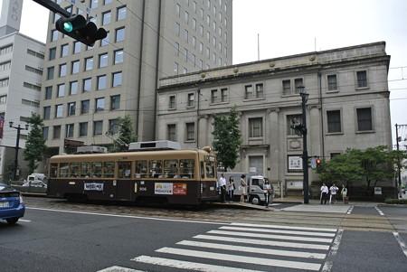 広電と旧日銀広島支店