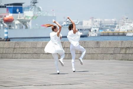 2015.06.28 みなとみらい 象の鼻防波堤 ダンス