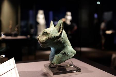 2015.08.15 東京国立博物館 ネコのミイラのマスク エジプト