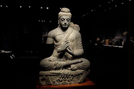 2015.08.15 東京国立博物館 如来坐像 パキスタン TC-734