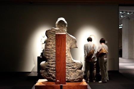 2015.08.15 東京国立博物館 如来坐像 裏 パキスタン TC-734