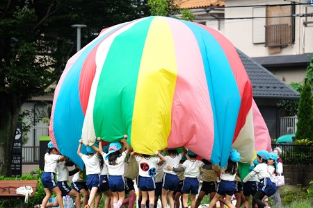 2015.09.18 和泉川 区役所広場 運動会練習