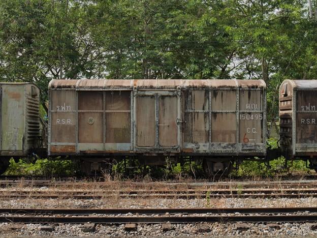 CG.150495、Khao Chum Thong Junction、タイ国鉄