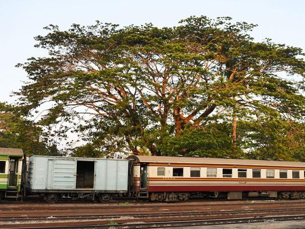 CG.151544 + BTC.1049、Thung Song Junction、タイ国鉄