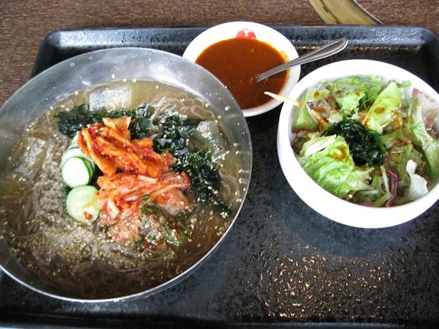 土古里の辛冷麺