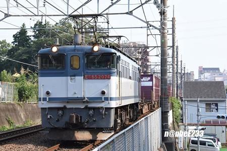 77レ EF65 2074+コキ