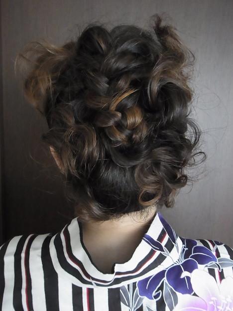2015年の髪型