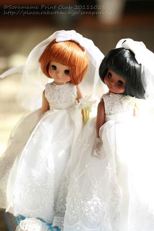 Make Believe Bride Tosca & Dru-5