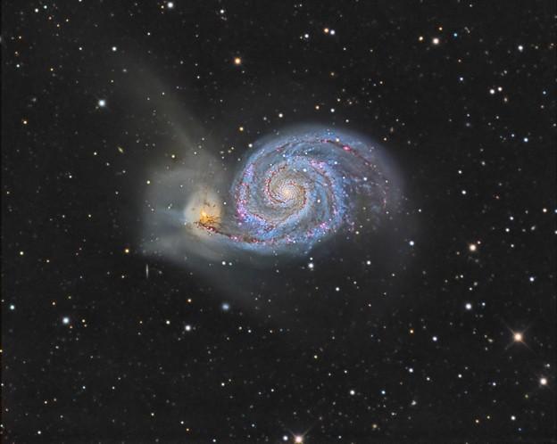 子持ち銀河with H-alpha