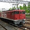 Photos: EF65 1118 単機 宇都宮11番9:09発車  東北上り本線へ