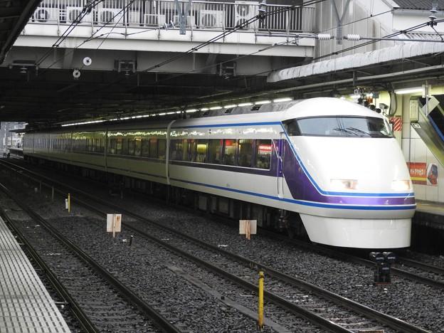 東武100系「雅」編成特急スペーシアきぬがわ7号1087M大宮11番入線