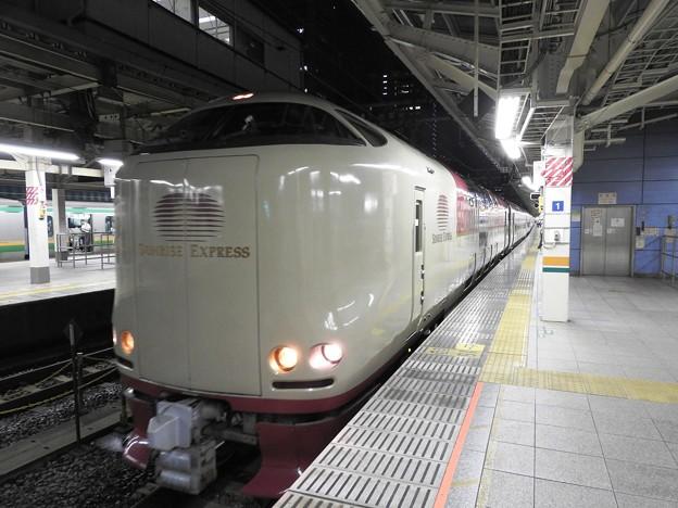 Photos: 285系寝台特急サンライズ瀬戸・出雲号東京9番発車!