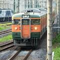 Photos: 宇都宮貨物(タ)を通過する115系472M EF64 1003との競演