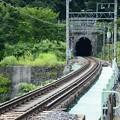 上越線上り清水トンネル出口