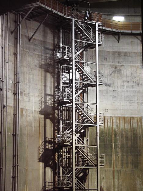 首都圏外郭方水路 施設階段