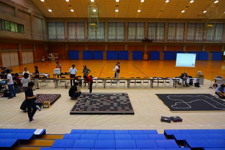 マイクロマウス関西地区大会2015会場