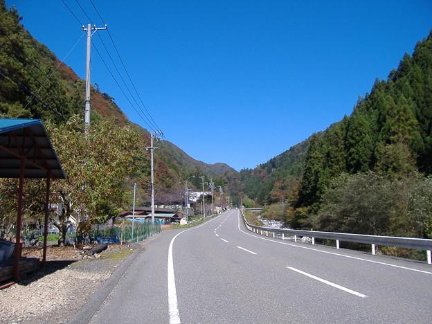 国道152号線上村