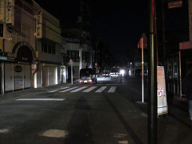 停電 in商店街2