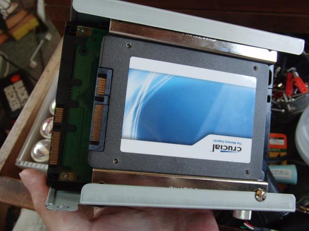 SSD載せ替え