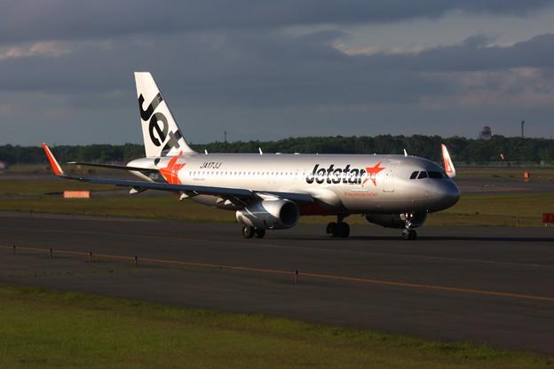 A320 Spotlightに照らされて