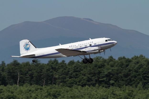 BaslerBT-67 C-FTGX takeoff