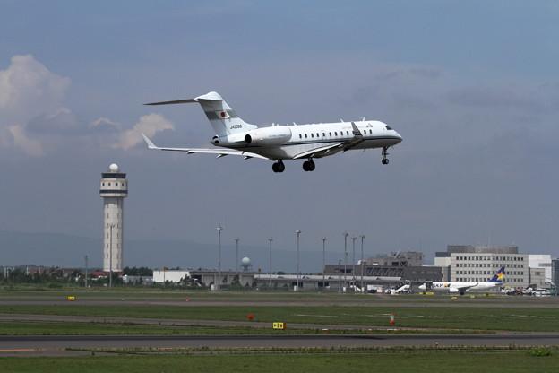 Flight Inspection 実施中 JACB JA005G
