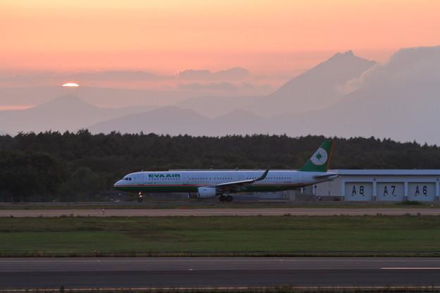 A321 夕景