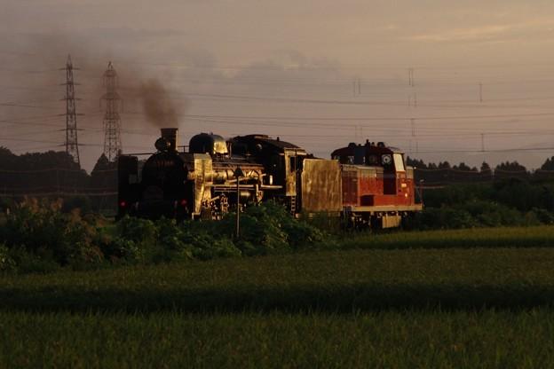DE10 1700牽引 C57 180 故障に伴う救援回送