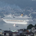 写真: コスタ・セレーナ入港 2
