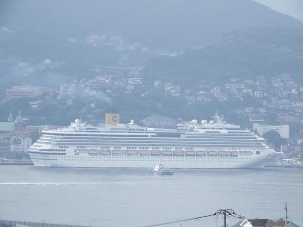 写真: コスタ・セレーナ入港 5