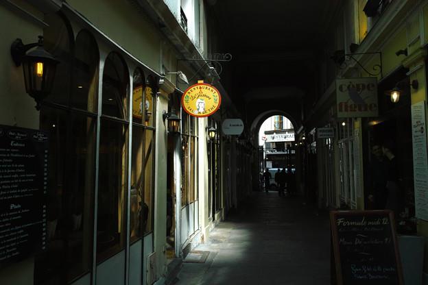 パサージュのある街