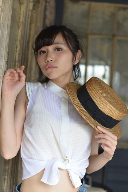 ~ サイン ~ 仁藤りささん@WALL PAPER model撮影会