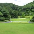 足利城ゴルフ倶楽部15番ホールコース画像2015.6.20