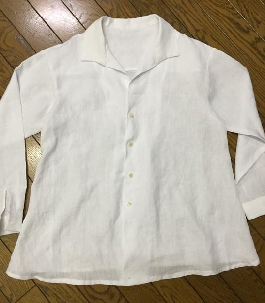 クルールのカシュクールシャツ