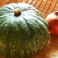 カボチャと玉ねぎ~収穫の秋~