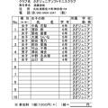 Photos: 長島杯申込書 (個人戦用)2015女子