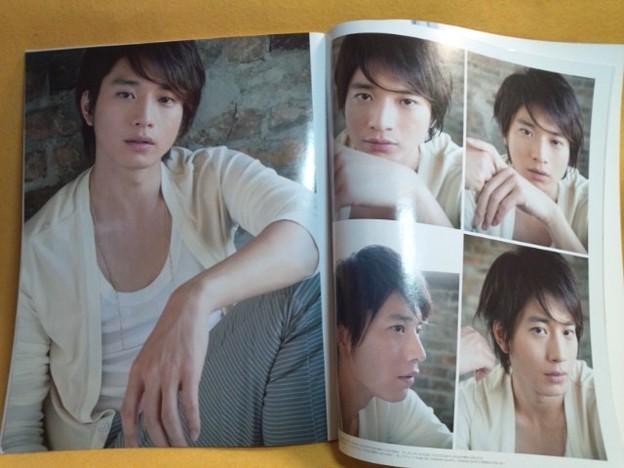 内容見本 向井理 特大ポスター 付き an 2011年6月15日号