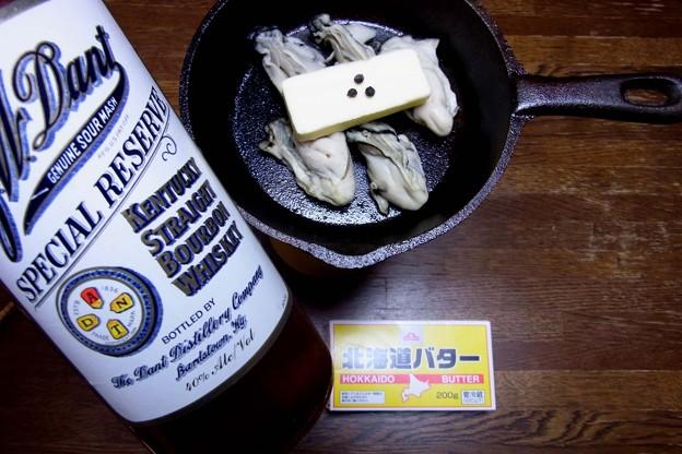 R0011894牡蠣のバーボンバター焼き
