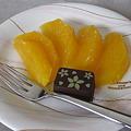 Photos: オレンジとチョコの盛り合わせ