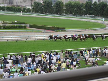 8月23日札幌競馬開催中