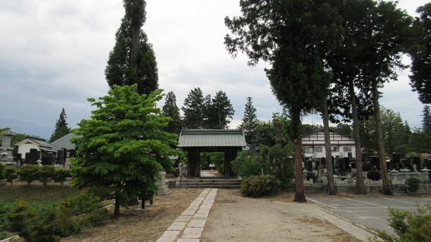 天正寺/仁科氏居館(大町市)
