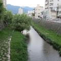 田川(女鳥羽川)千歳橋より東(長野県松本市)
