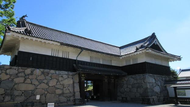 松本城黒門枡形(長野県)