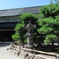 松本城 水野氏所縁石灯籠(長野県)