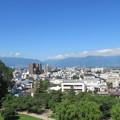 松本城 天守より南西(長野県)